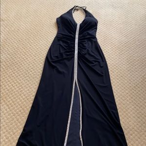 Black evening dress size small.